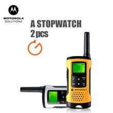 Motorola Tlkr T50 TalkieMet Walkie 20 Kanalen 6Km après stand talkie-walkie extérieur Ondersteuning Ni-Mh Batterij & Aaa Batterij