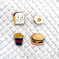 fashion enamel lapel cartoon pins food mix brooches for women badges backpack cute pin gifts for friends wholesale jewelry