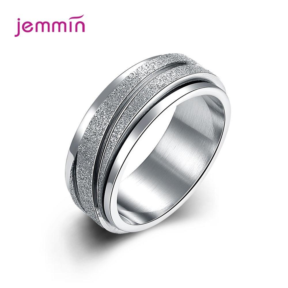 Hot Fashion 925 Sterling Silver Full Size Gear Shape Finger Rings For Women Girls  Sale Jewelry Bridal