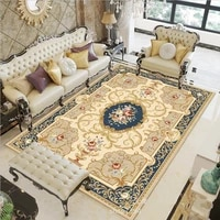 modern household simple living room european carpet coffee table is full of washable carpet bedroom decoration