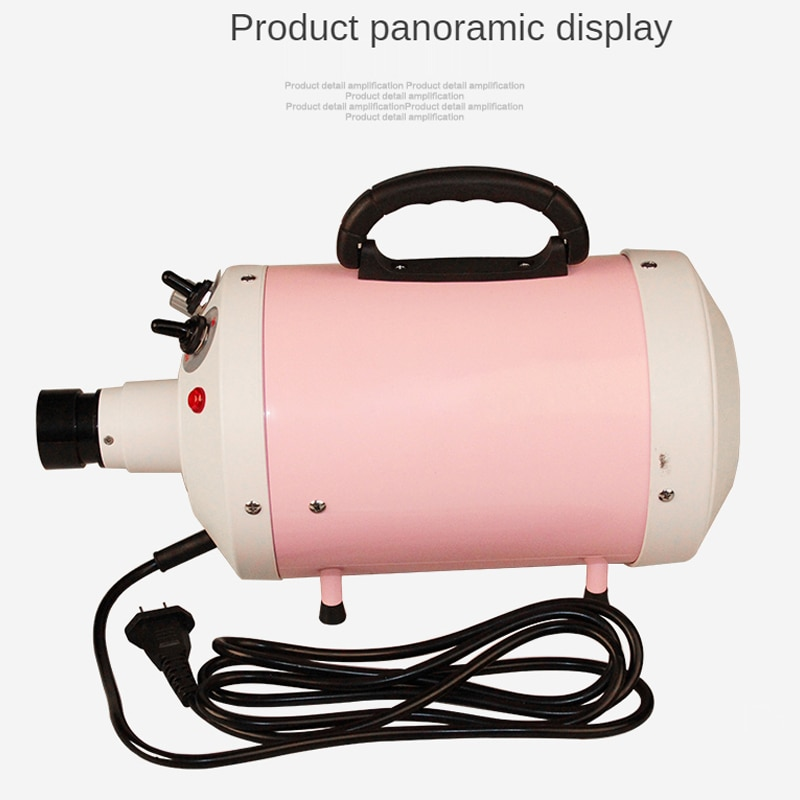2400W Power Hair Dryer For Dogs Pet Cat Grooming Blower Warm Wind Secador Fast Blow Small Medium enlarge