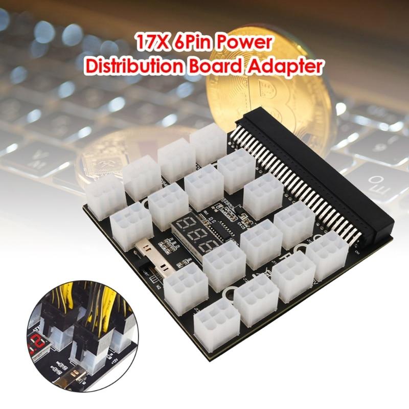Adaptador de minería de placa de alimentación convertidor de servidor 12V ATX...