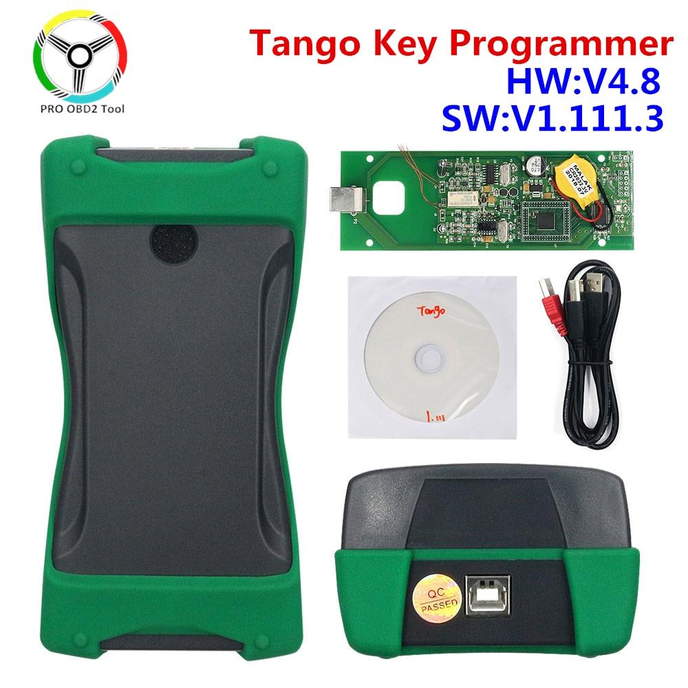 New Tango Key Programmer Foropel ForFiat Fortoyota Auto Transponder Chip Programmer Software V1.111.