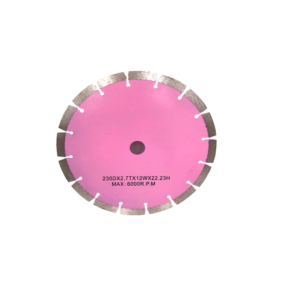 DB34 Manufacturer Cutting Tools Supplier 9 Inch 230mm Sintered Daimond Circular Cutting Disc Fast Stone Cutting Blades 10PCS