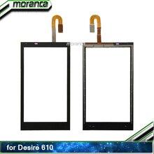 HTC Desire 610 터치 스크린 디지타이저 센서 용 D610 터치 패널 전면 외부 유리 패널 터치 스크린 교체 부품