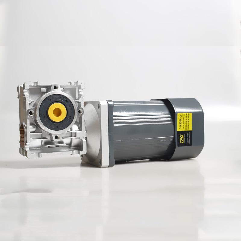 200W + NMRV40 AC getriebe wurm getriebe minderer, hohe drehmoment, positive und negative rotation, feste geschwindigkeit motor