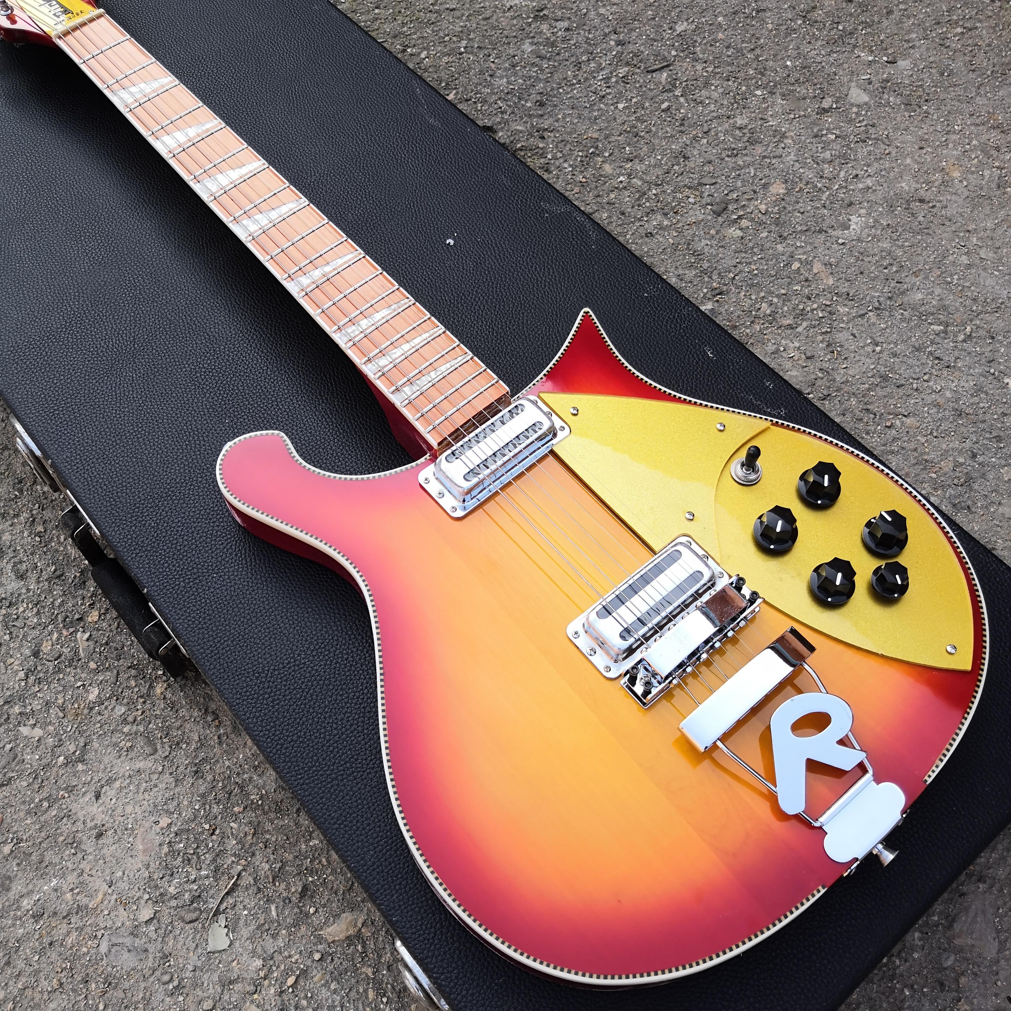 Guitarra Eléctrica R-6/12 de 660 cuerdas, diapasón de palisandro barniz brillante 5 grados