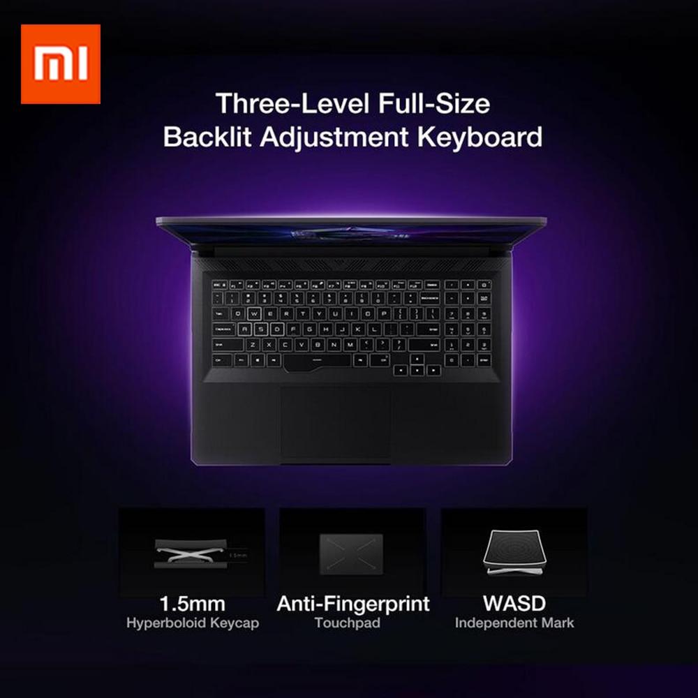 Original Xiaomi Redmi G Gaming Notebook GTX1650 Ti Intel Core i7/i5 Laptops 16.1 Inch 16GB DDR4 512GB SSD WiFi 6 Windows10