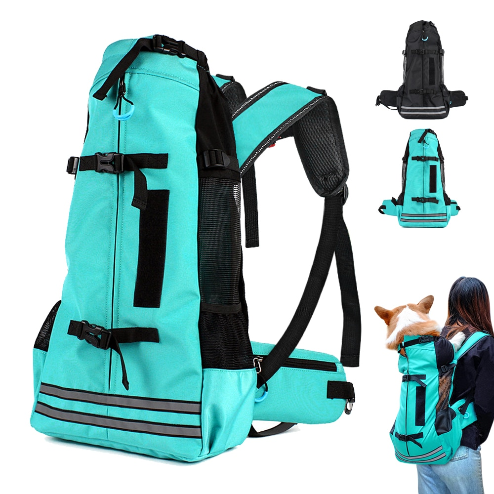 aliexpress.com - Outdoor Pet Dog Carrier Bag for Small Medium Dogs Corgi Bulldog Backpack Reflective Dog Travel Bags Pets Products
