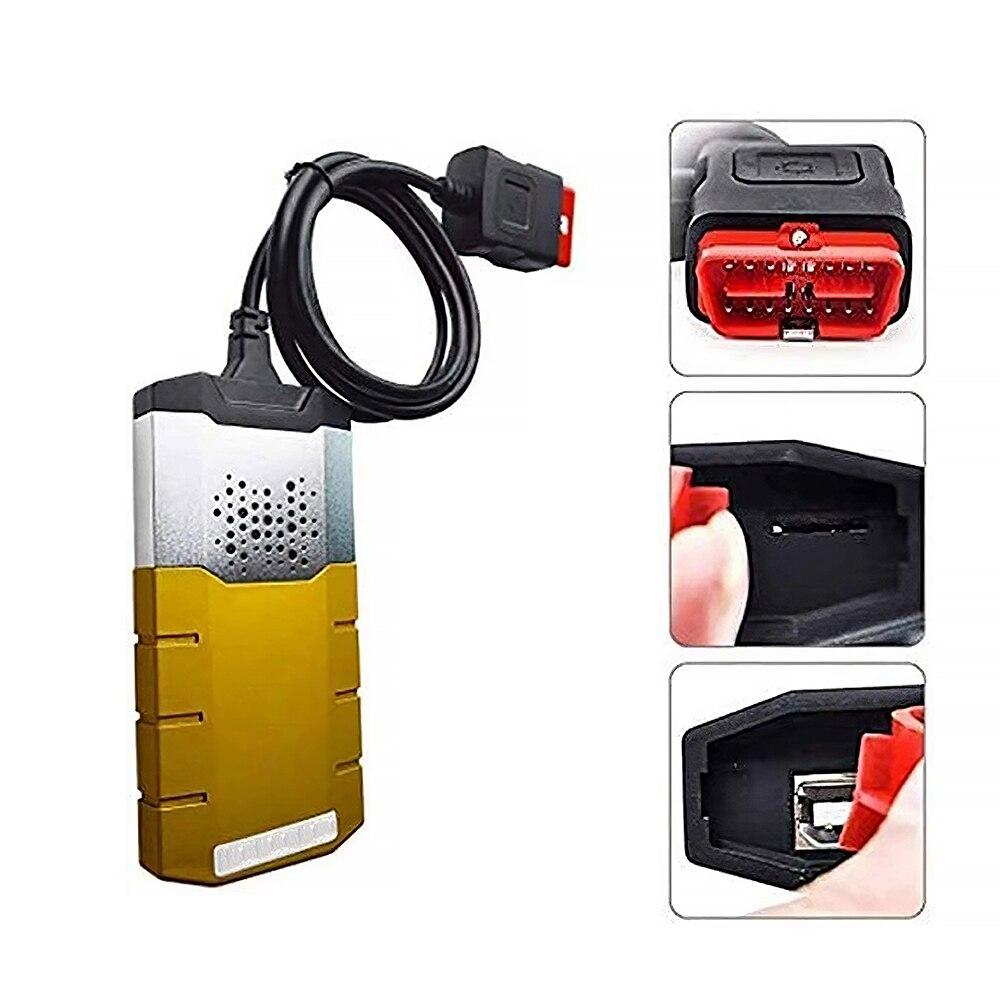 1 قطعة التكنولوجيا 150E OBDⅡCar أداة تشخيص TCS CDP سيارة جذع خطأ رمز قارئ محرك ماسحة أداة مع بلوتوث اللاسلكية