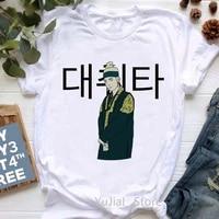 korean version of kpop agust d graphic tees print t shirt womens clothing d 2 album tshirt femme summer fashion t shirt female