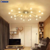 Plafonnier dore au design creatif  eclairage dinterieur  luminaire decoratif de plafond  ideal pour un salon  une salle a manger  un Hall dentree  une salle a manger