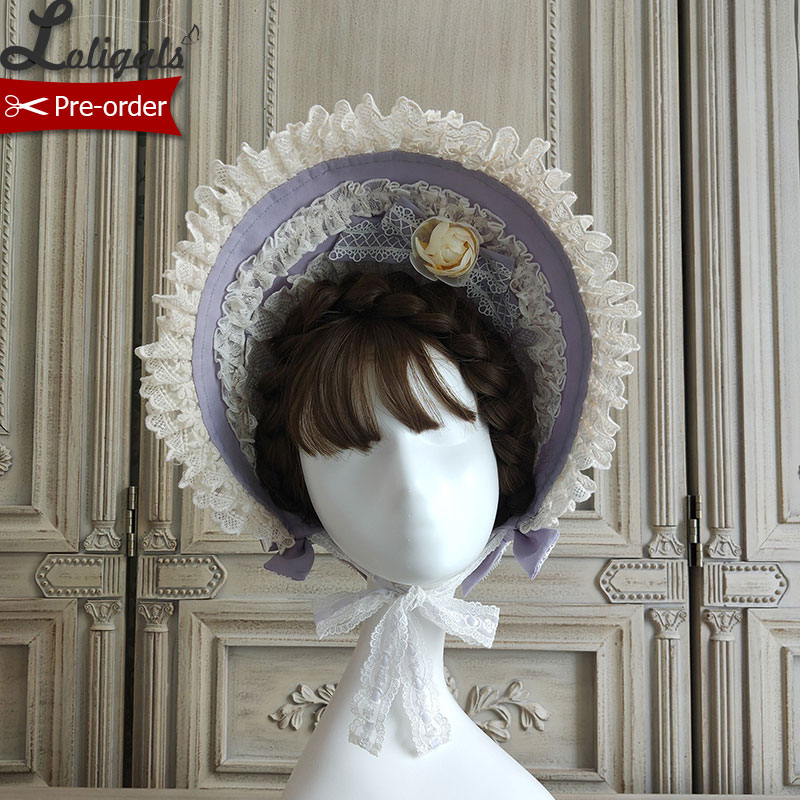 Camillias florecientes Sweet gorro dulce Lolita de Alice Girl ~ Pre-pedido