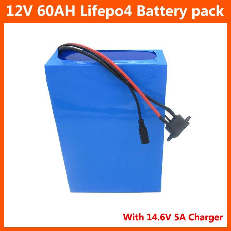 4S 10P 12 V 60AH lifepo4 bateria 12 V 500W 40AH 50AH...