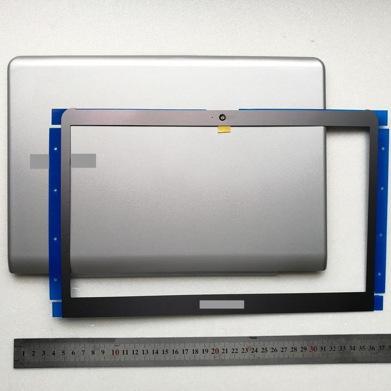 Nouveau coque arrière lcd pour ordinateur portable + lunette avant lcd pour samsung NP530U3C 530U3B 535U3C 532U3C 530u3b NP530U3B NP530U3C 13.3
