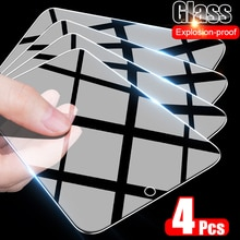 4Pcs Tempered Protective Glass For Huawei P20 P30 P40 Lite P Smart 2019 Screen Protector For Huawei