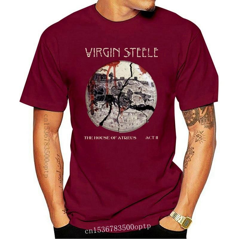 New The House of Atreus Act II Virgin Steele Black Tee T-shirt Men's sz S-3XL100% cotton casual short sleeve men T shirt o-neck
