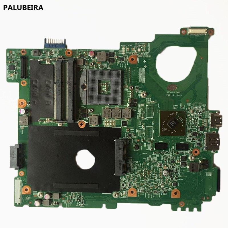 PALUBEIRA NKC7K 0NKC7K CN-0NKC7K placa principal Dell Inspiron N5110 con 4 Tarjeta gráfica placa base de computadora portátil de trabajo de 100%