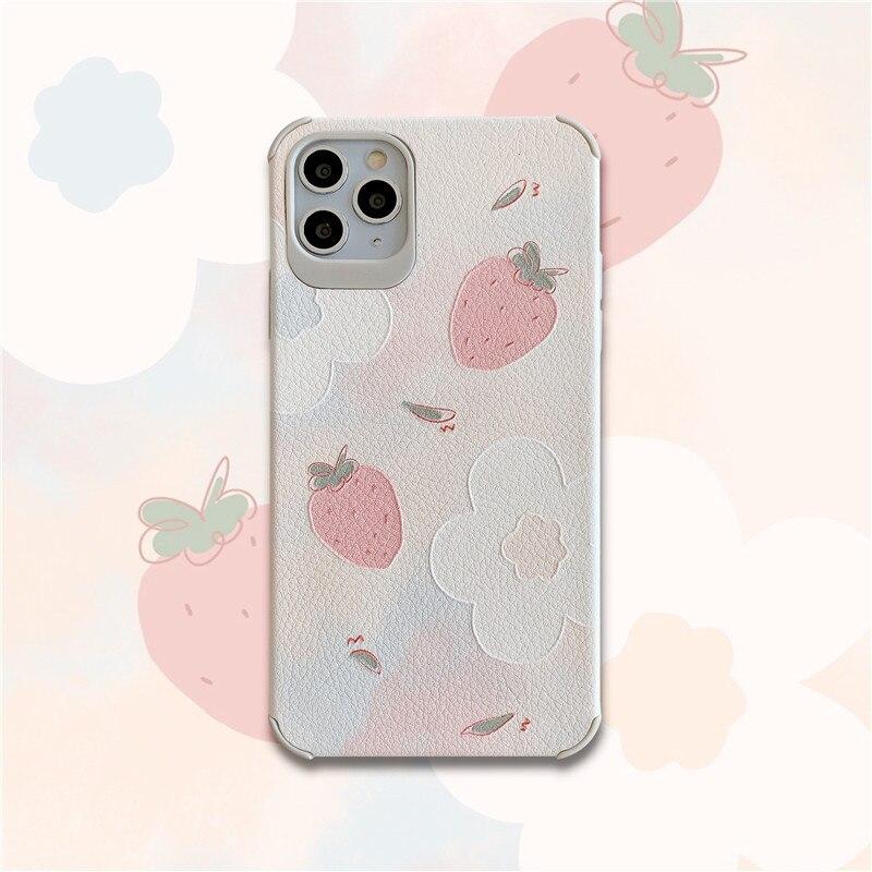Cao mei hua duo para 11 pro/Max iPhone X/XS/XR/iPhone teléfono móvil caso IPhone7p mujer 8plus de Gel de sílice