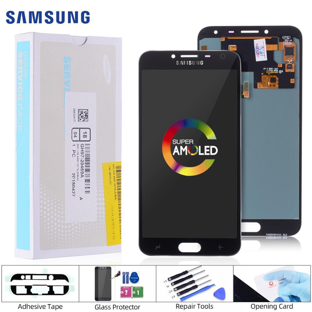 AMOLED LCD Original para Samsung Galaxy J4 pantalla LCD Digitalizador de pantalla táctil para Samsung J4 pantalla J4 2018 J400 J400F/DS J400G