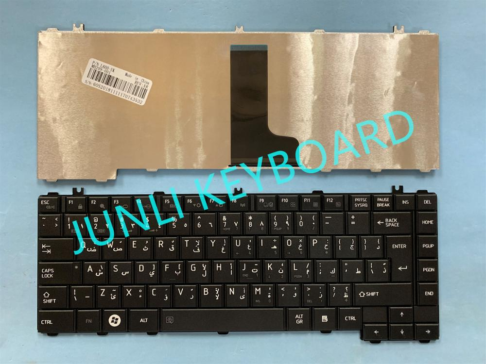 JUNLI KEYBOARD FOR Toshiba Satellite C600 C640 C640D C645 C645D L600 L600D L605 L630 L700 L730 L735 L745D Arabic Black