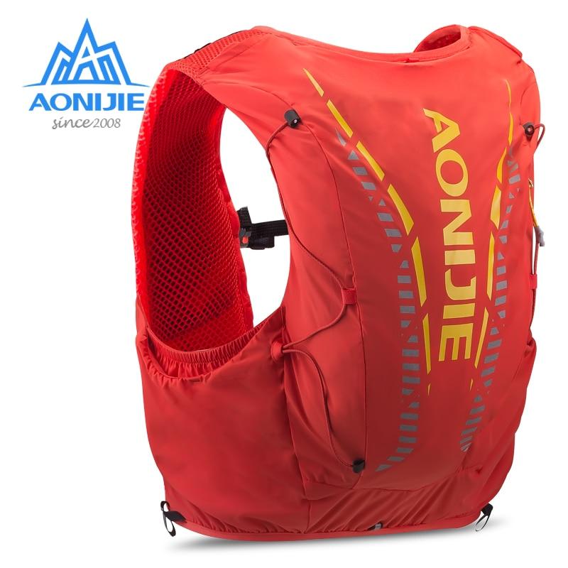 حقيبة AONIJIE C962 للبشرة المتقدمة بسعة 12 لتر, حقيبة، حزمة، حقيبة الظهر المائية، سترة لينة، المياه، للمشي لمسافات طويلة، لسباق الماراثون
