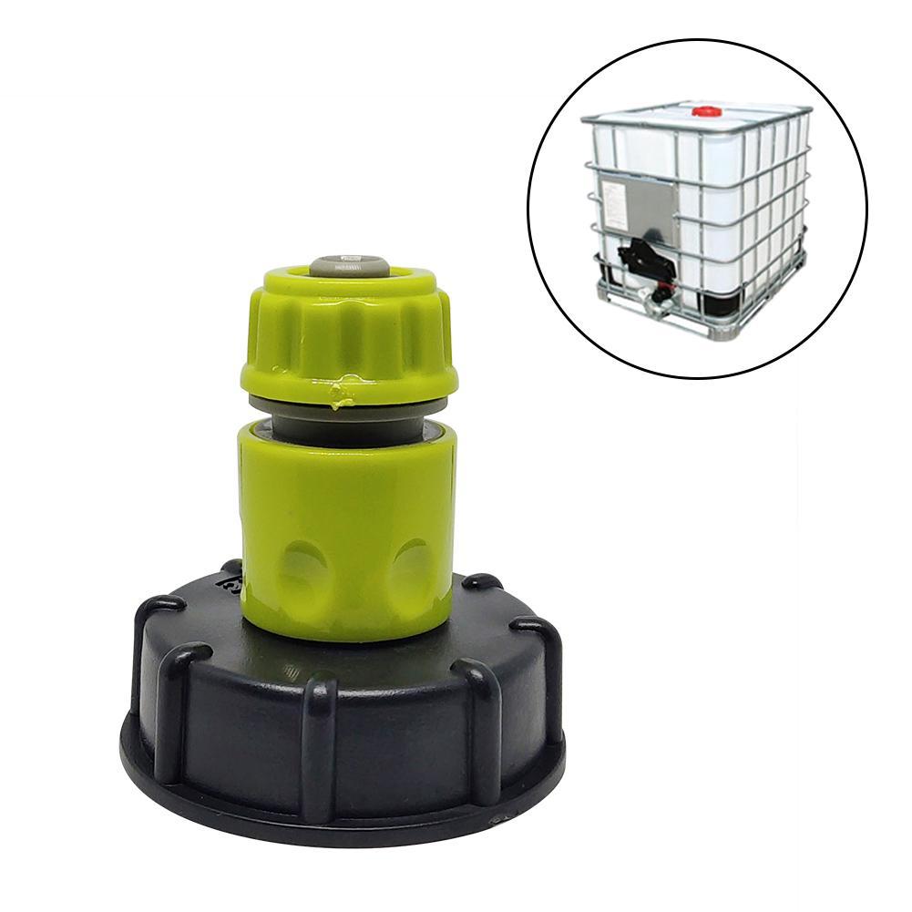 Садовый водяной шаровой клапан для IBC контейнера S60X6 адаптер для растений крышка водопроводного крана с наружной резьбой соединения шланга