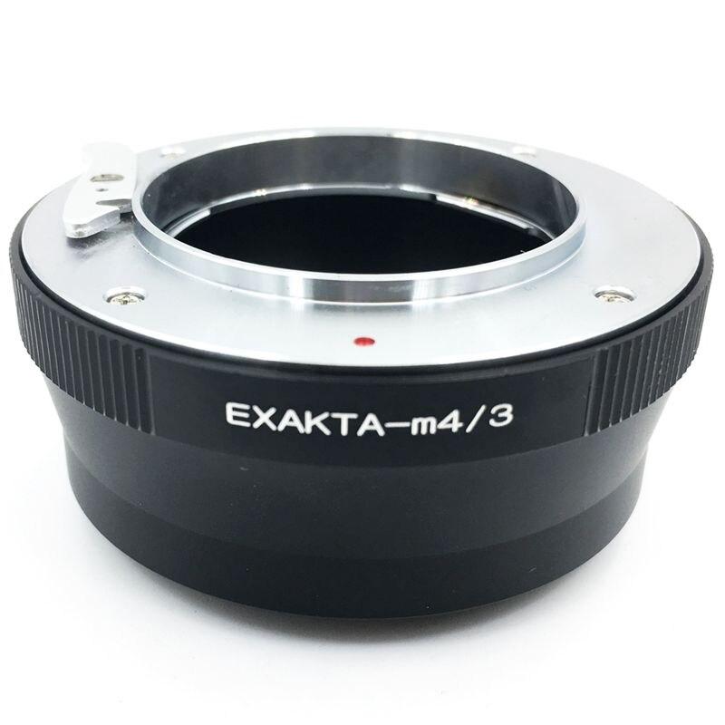 Anel quente do adaptador Exa-M4/3 para a lente de exakta ao corpo de micro-4/3 gh4 gh5 bmpcc