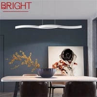 bright pendant lights with remote control dimmable 220v 110v modern fixtures decorative for home dining room restaurant