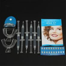 Tanden Whitening Orale Gel Polish Pen Kit Professionele Bleken Mondhygiëne Care Tool Met Led Licht Siliconen Tooth Whitener