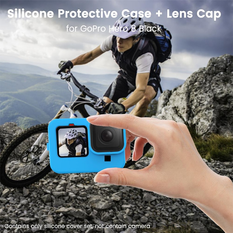 Camera Sports Action Video Cameras Accessories For GoPro 9 Sports Camera Silicone Case For GoPro Hero 9 Sports