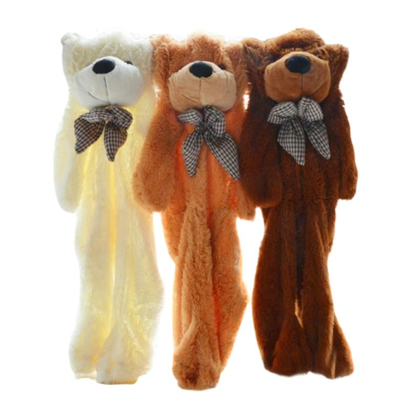 De 60cm a 200cm, peluches sin llenar, muñecas, osos de peluche semielaborados, juguetes para niños para entrenar la capacidad de manos libres de los niños