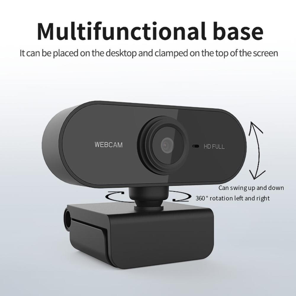 Cámara Web Full HD 1080p Q15 Webcam Network USB cámara Web de unidad libre para ordenador portátil con micrófono Cámara PC