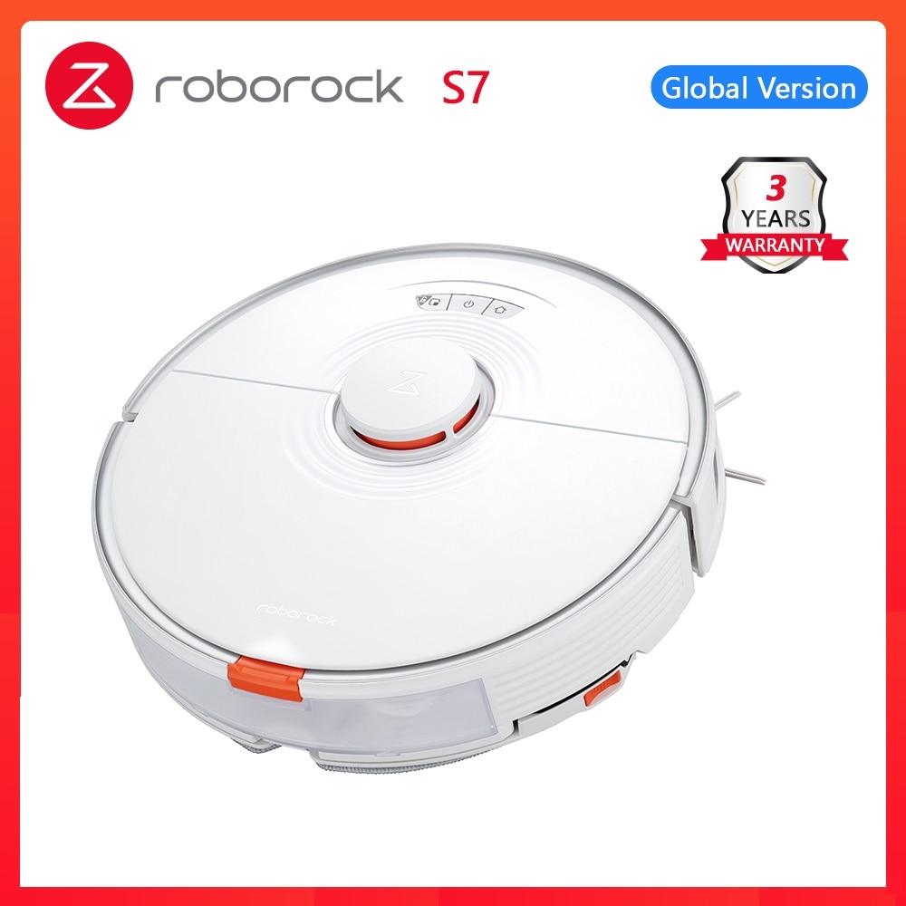 Робот-пылесос S7 Roborock S7 для дома, ультразвуковая уборка ковров, уборка ковров, alexa, обновленный подъем, для робота xiaomi