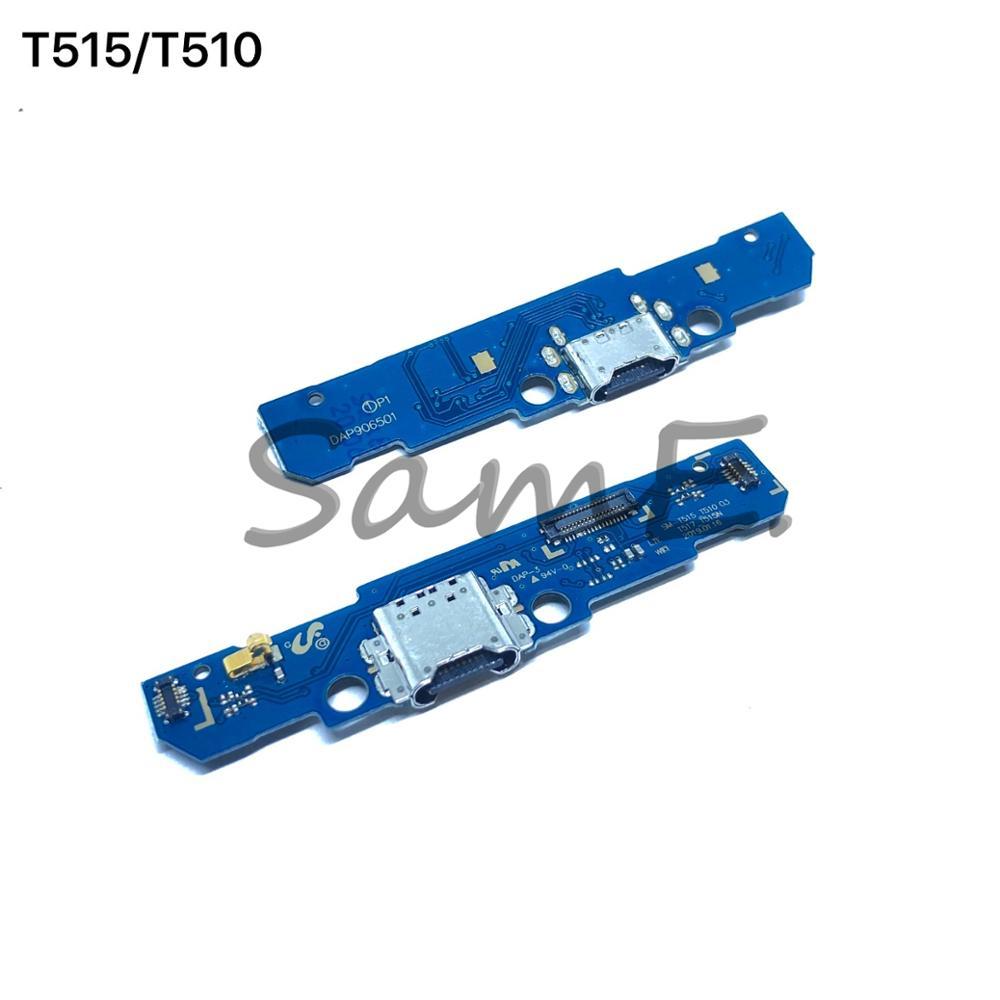 Para Samsung Galaxy Tab A 10,1 pulgadas 2019 SM-T510 T515 de carga USB cargador Junta Puerto conector Flex Cable piezas de repuesto