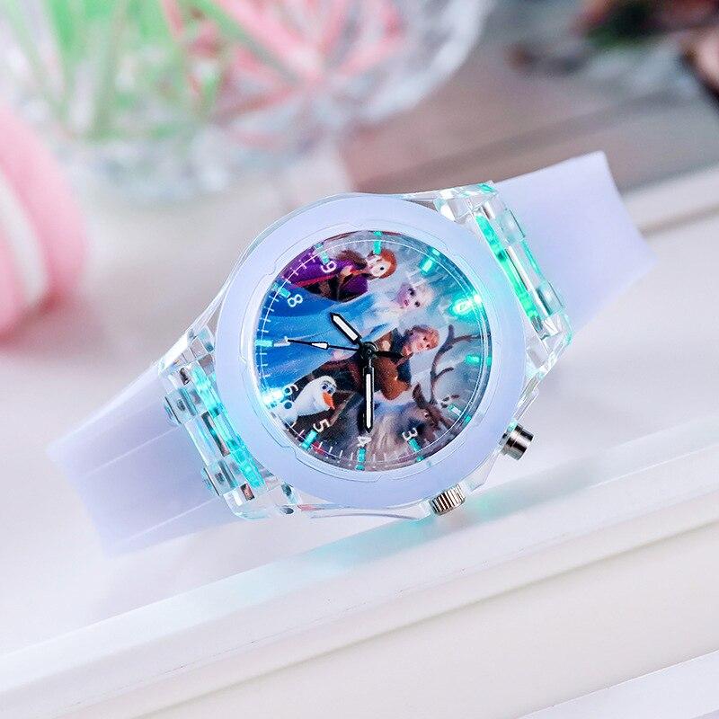 AliExpress - New 11 Styles Frozen Princess Anna& Elsa Children Watch Toys Fashion Crystal Cartoon Quartz Wristwatch for Girls Kids Toy Gift