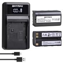 Batmax GEB221 بطارية ليثيوم أيون + شاحن ل TC1200 TPS1200 GPS900 GRX1200 GS20 بايبر 200 RX900 بايبر 100/200 الليزر ، ATX1200 GPS1200