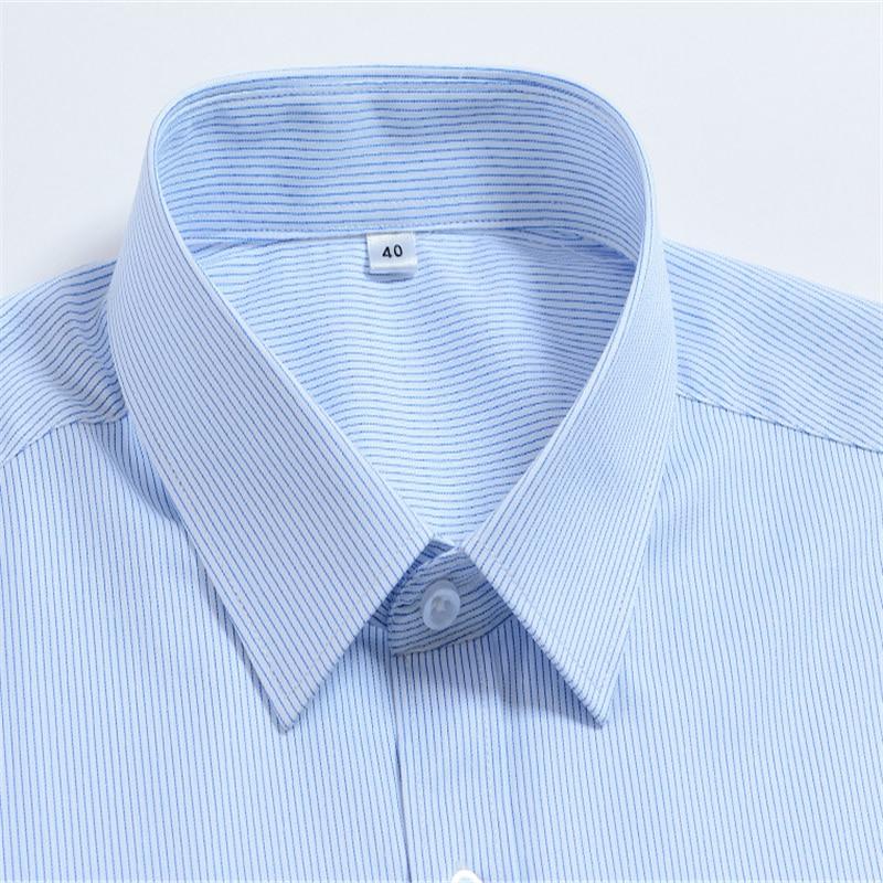 Spring White Business Men Long Sleeve Shirt Blusas Blouse Camisa Social Bluzki Bluzka Chemise Longue Cotton Vestidos Casuales