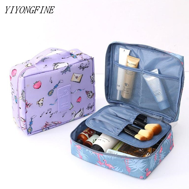 New Women Cosmetic Bag, Multifunction Makeup Bag, Grooming Kit, Beauty Case, Toiletries Organizer, T
