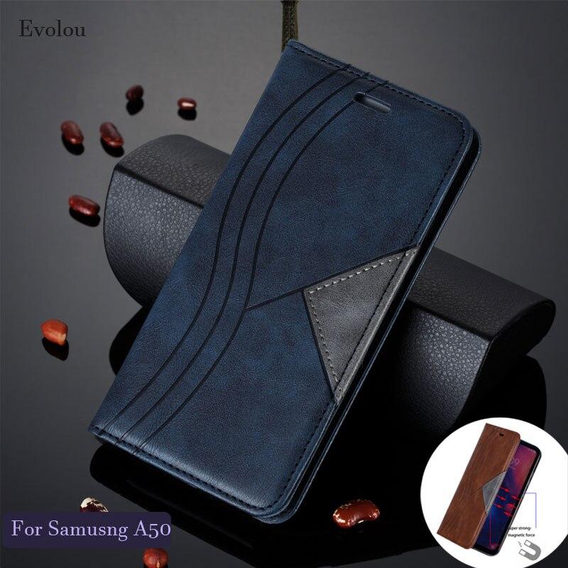 Для Samsung Note 10 9 A50 S10 Plus S20 M10 A20e Ретро Флип-книжка кожаный чехол для Samsung A50s A30 S7 Edge Магнитный Флип-кейс