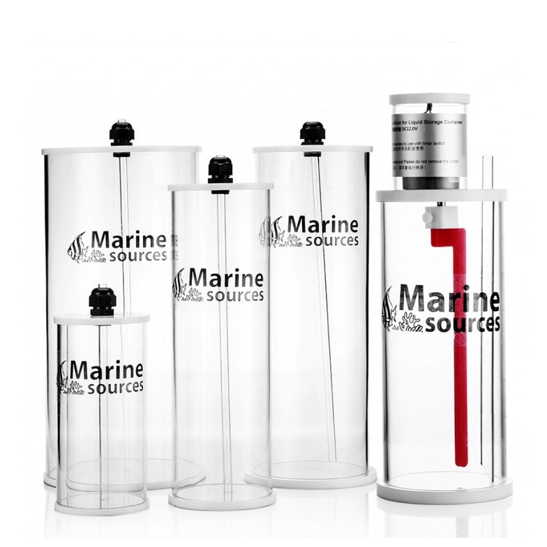 مصدر بحري حوض السمك مضخة الجرعات حاوية السائل 0.8 لتر 1.5 لتر 2.5 لتر 5.0 لتر