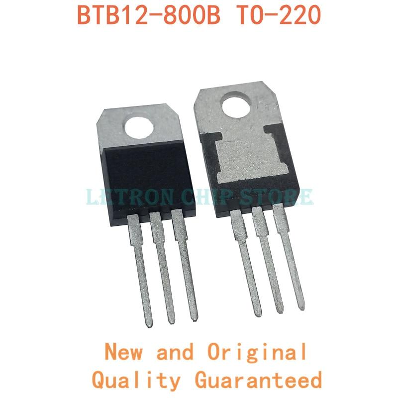 10 pces BTB12-800B to220 BTB12-800 para-220 btb12 800b novo e original chipset ic