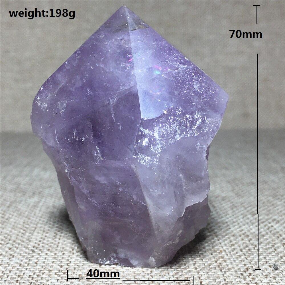 Натуральный Аметист образец кристалла кварца украшение для дома камень и Кристалл Рейки Исцеление