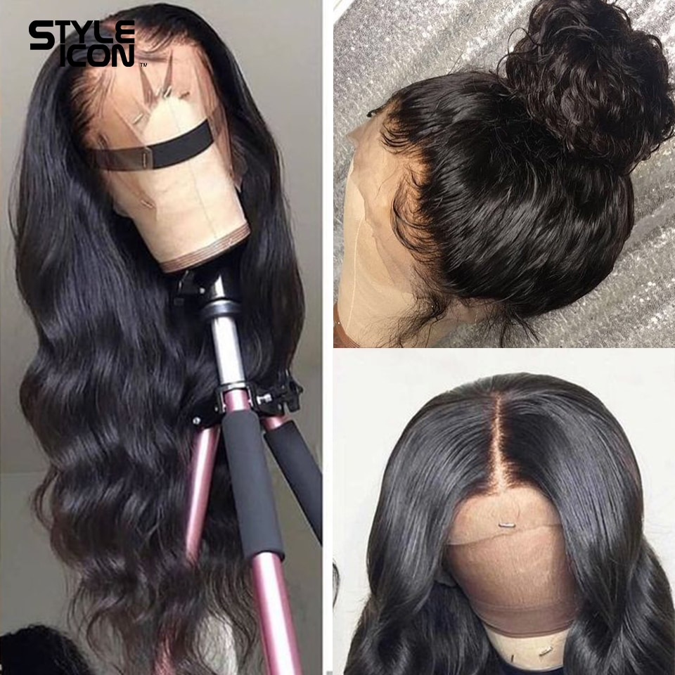 13x4 Lace Frontal Body Wave Wigs 360 Lace Frontal Wig Brazilian Human Hair Wigs Body Wave Lace Closure Wigs For Black Women