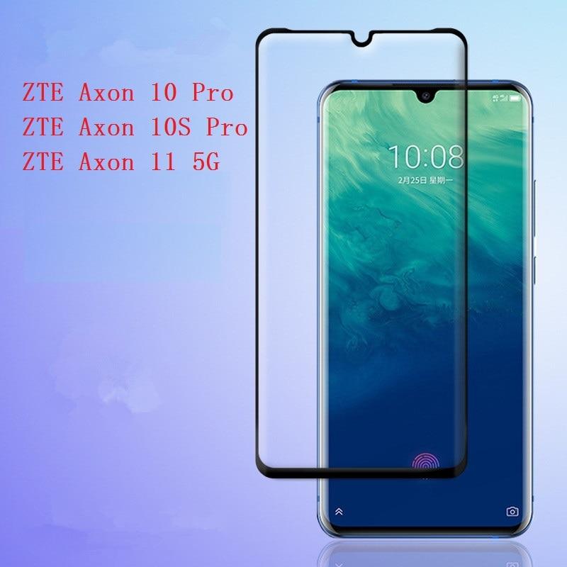 Защитная пленка для экрана для ZTE Axon 10 10S Pro 5G 11 закаленное стекло 3D переднее закаленное стекло