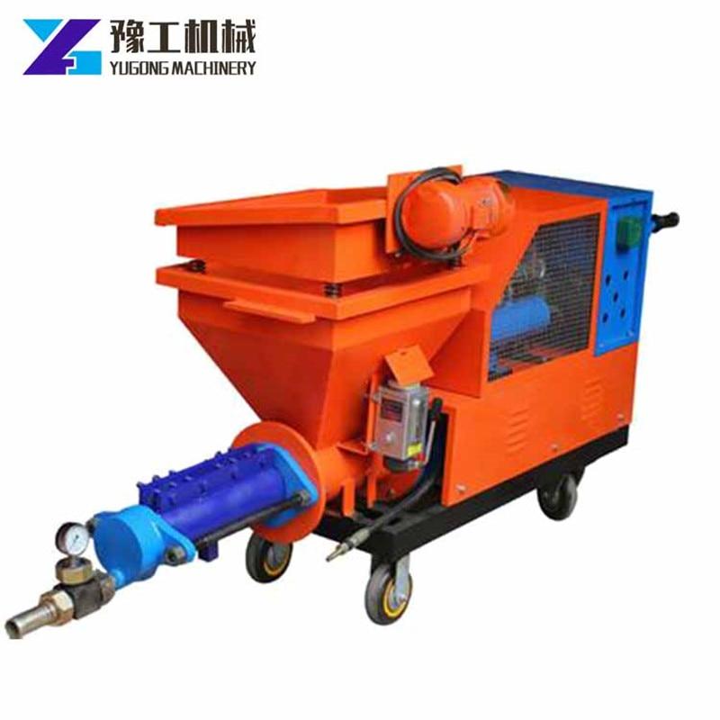 Cement Spray Machine Price Screw Type Cement Mortar Spraying Pump Wall Plaster Spray Paint Machine