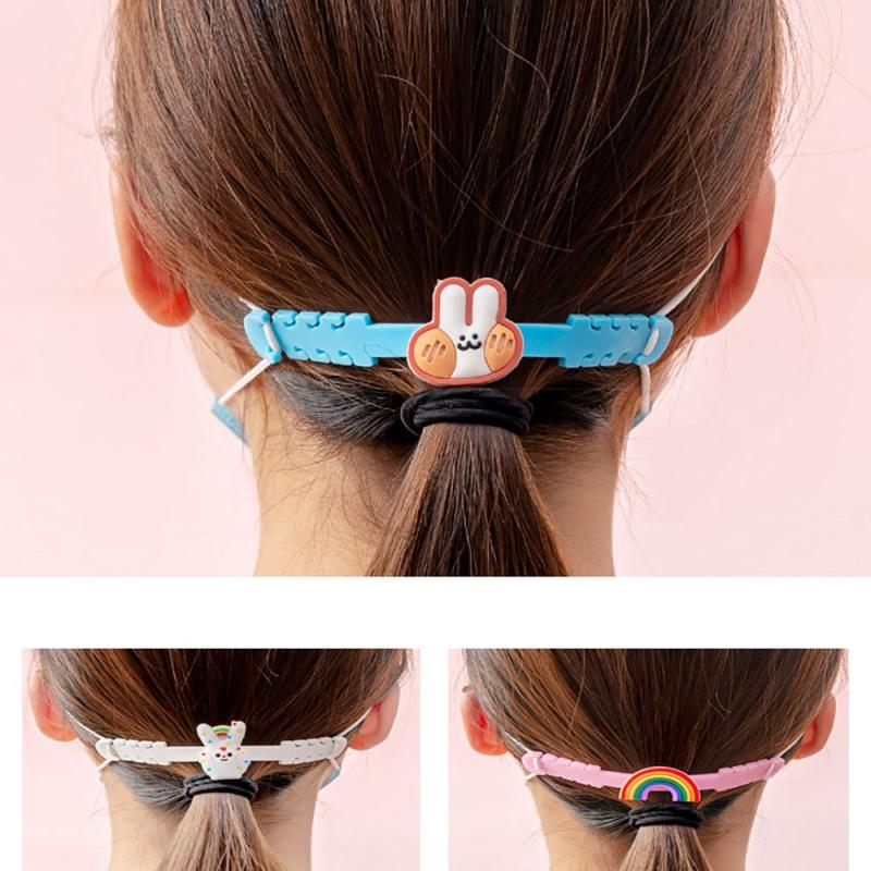 Strap Hook For Masks,3 Gear Adjustable Extension Strap For Relieving Long-Time Wearing Ears' Pressur