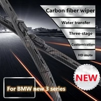 for bmw new 3 series 320i 320li 328gt modified carbon fiber wiper exterior decoration 13 years 325li old style 330i accessories