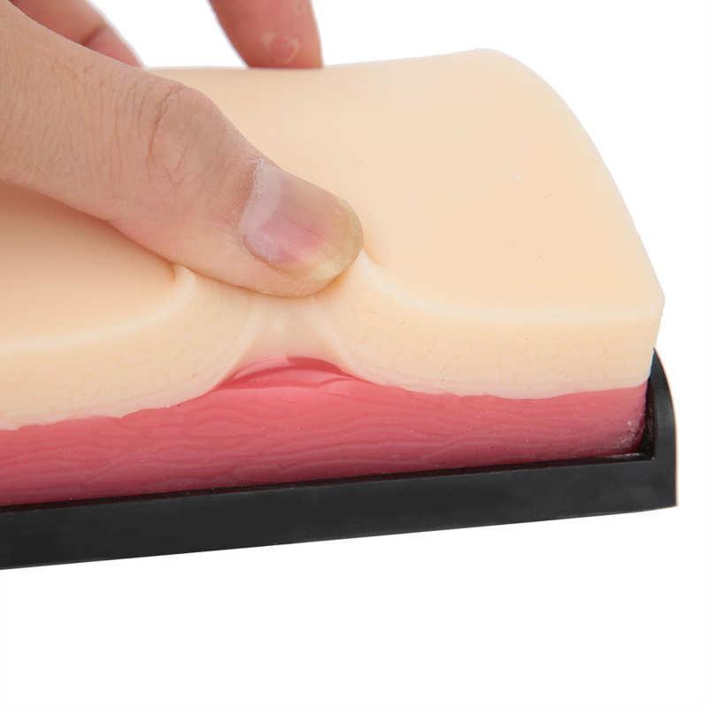 3 schichten Simulation der Menschlichen Haut Incision Naht Ausbildung Modell Injection Praxis Pad Modul