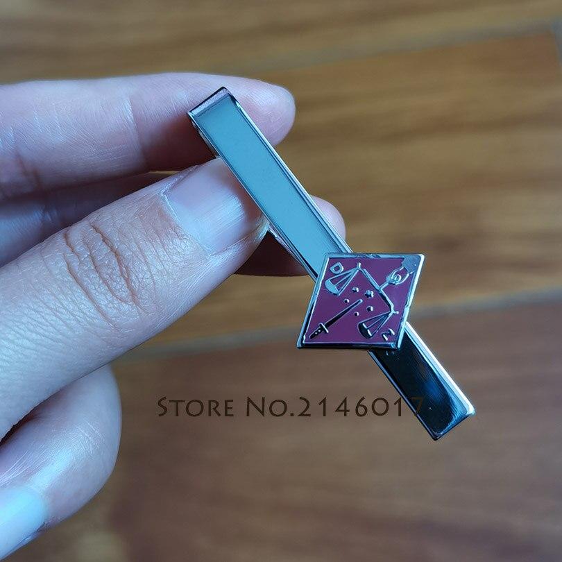 100 قطعة 16th درجة Freemason الماسونية مصنع مخصص التعادل كليب الاسكتلندي الطقوس الماسونية شارة مينا معدنية شريط كليب